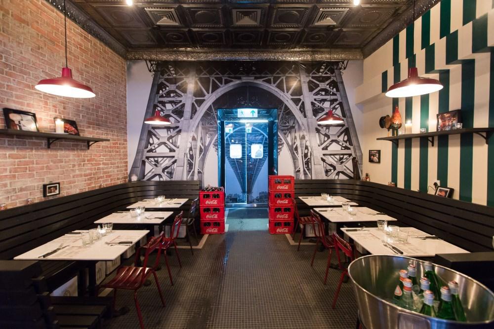MOTORINO WAN CHAI sean dix restaurant interior design
