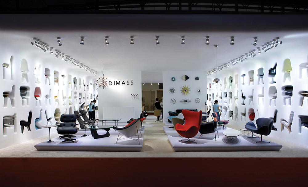 EDIMASS CIFF 09 exhibition stand design SEAN DIX