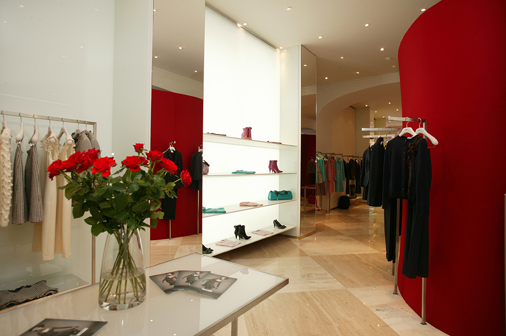 Moschino Moscow retail interior design sean dix