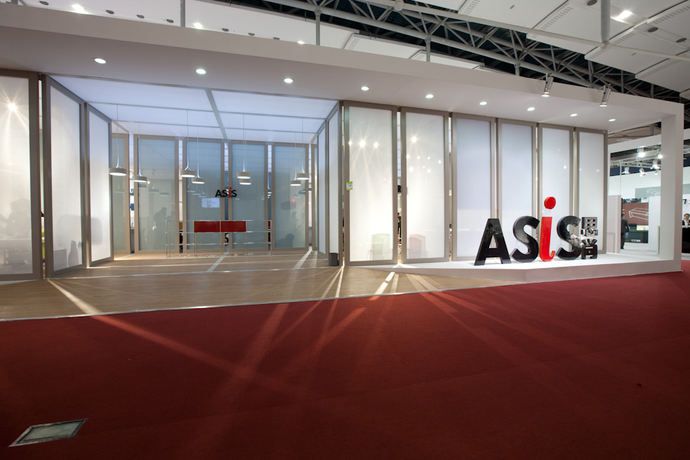 ASIS exhibition stand SEAN DIX DESIGN