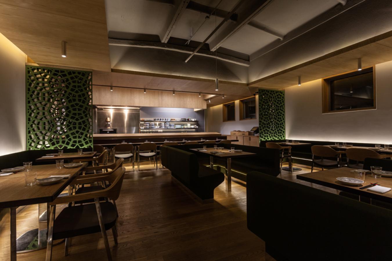 Okra Beijing restaurant interior design sean dix