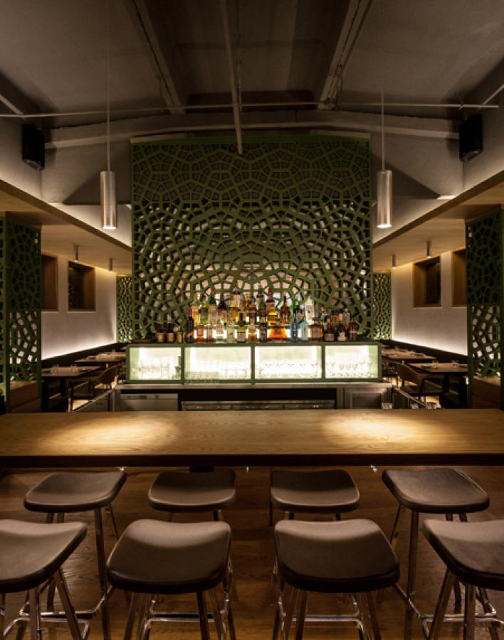 Okra Beijing restaurant interior design sean dix
