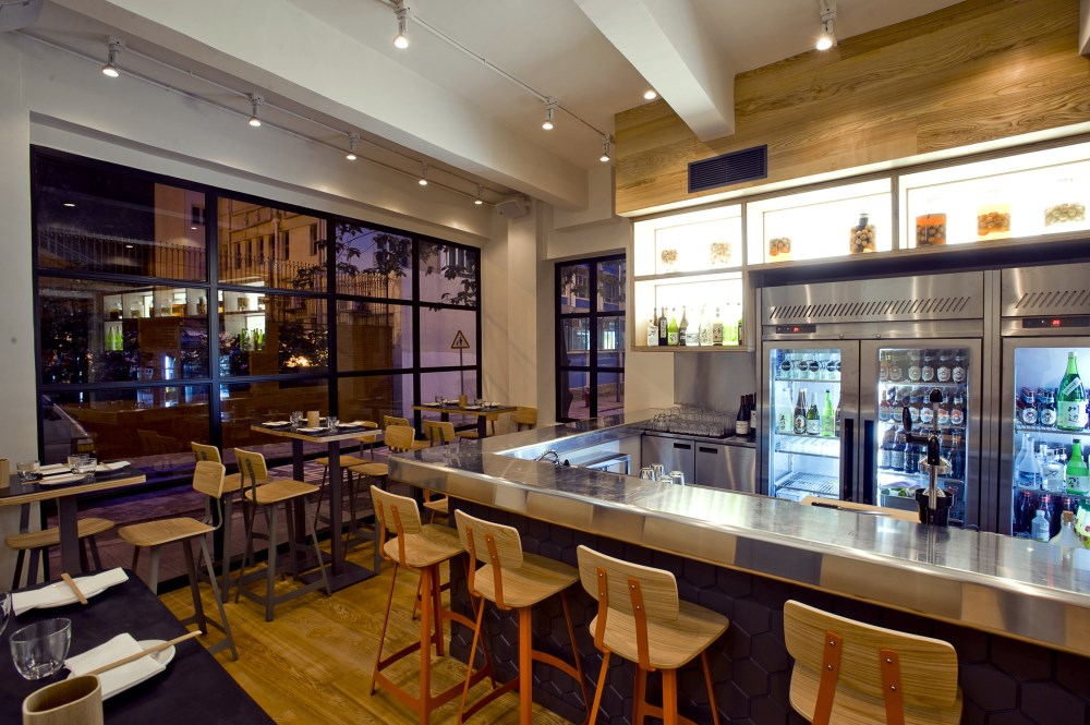 Yardbird Hong Kong sean dix restaurant interior design
