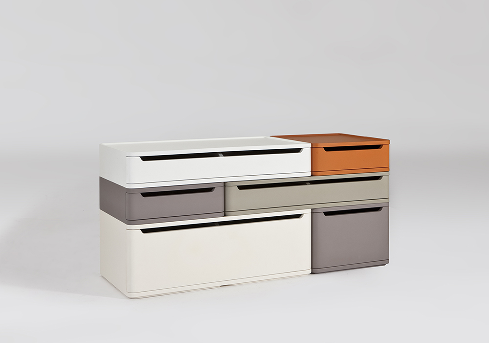 Blocks Stacking drawer Sean Dix furniture design