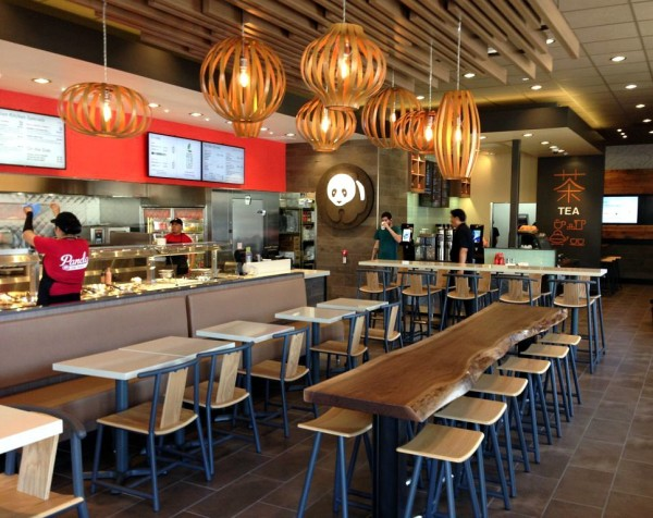 Panda Express Restaurant Interior Design Sean Dix