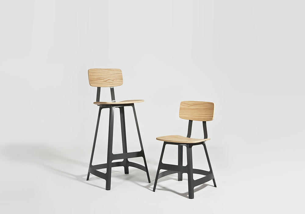 Yardbird stool and chair Sean Dix furniture design