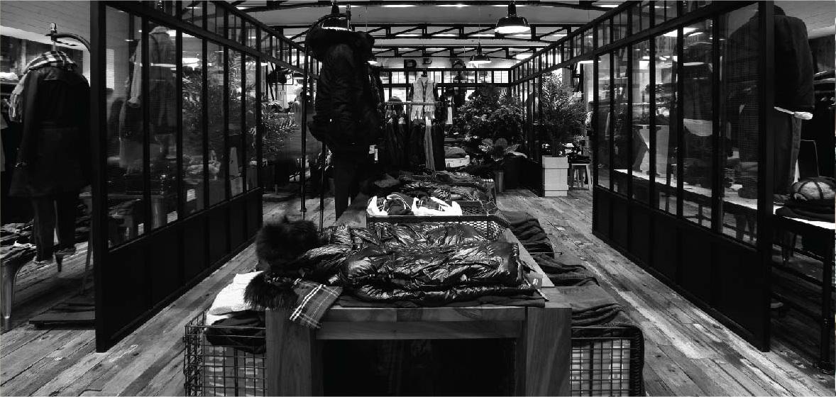 Izzue Beijing Sean Dix retail interior design