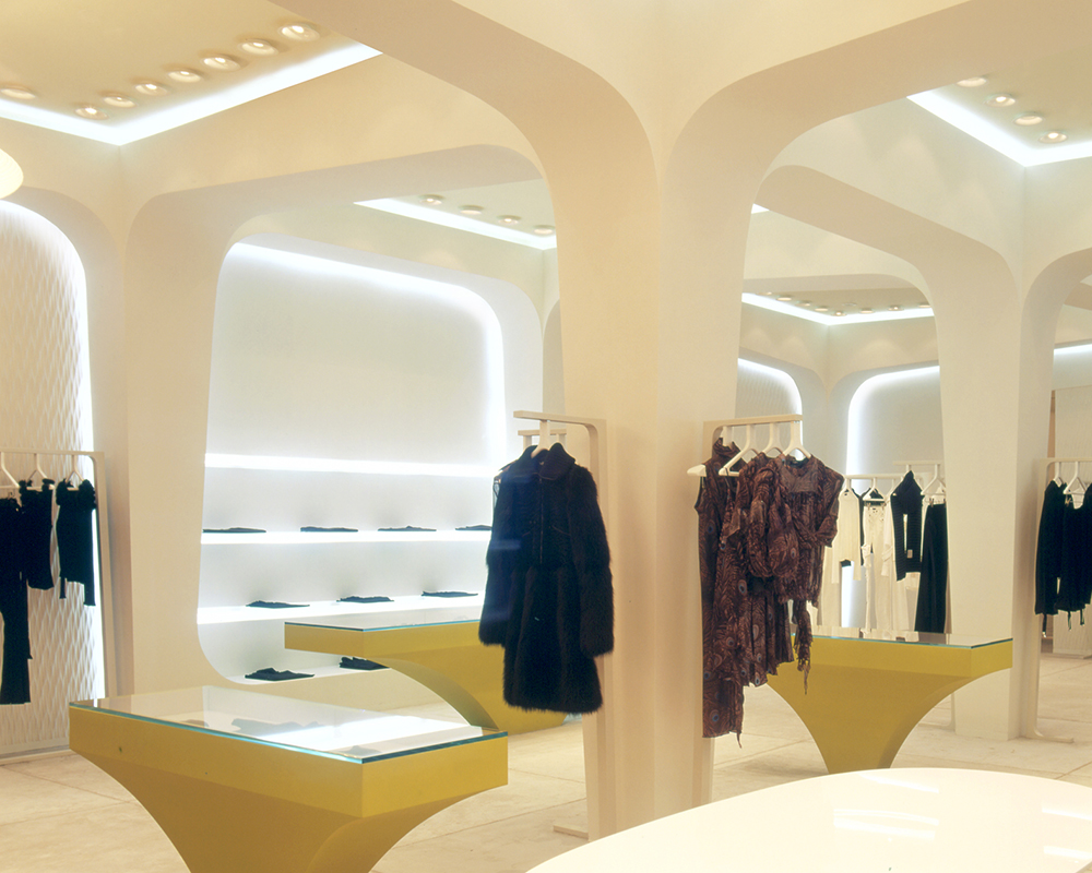 BYBLOS MOSCOW SEAN DIX retail interior design