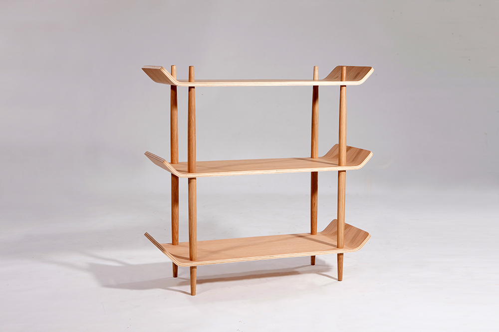 bentwood shelves Sean Dix furniture design