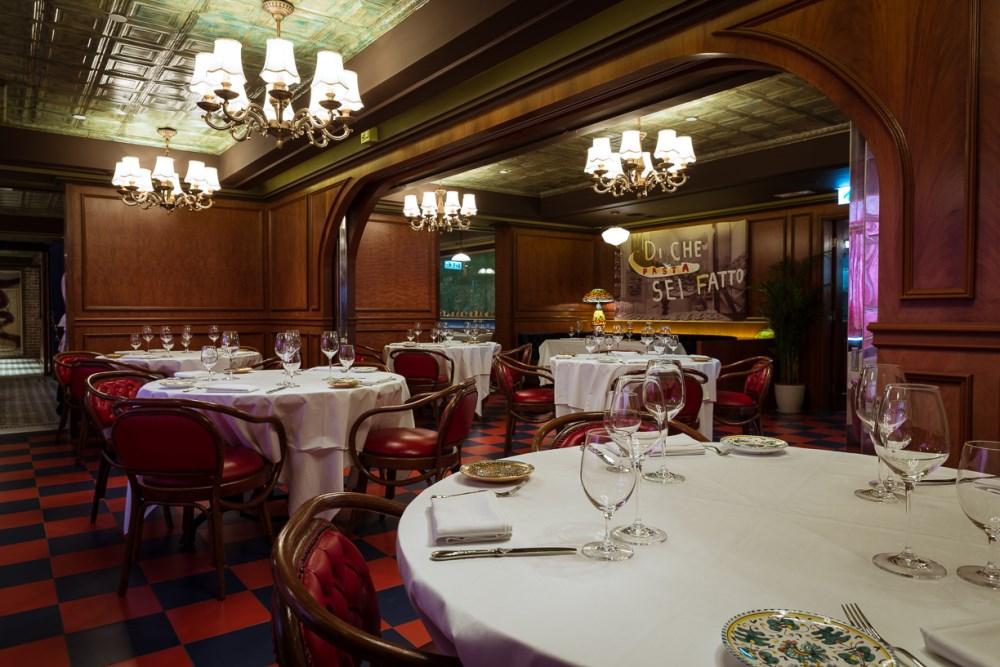Carbone restaurant interior architecture design sean dix