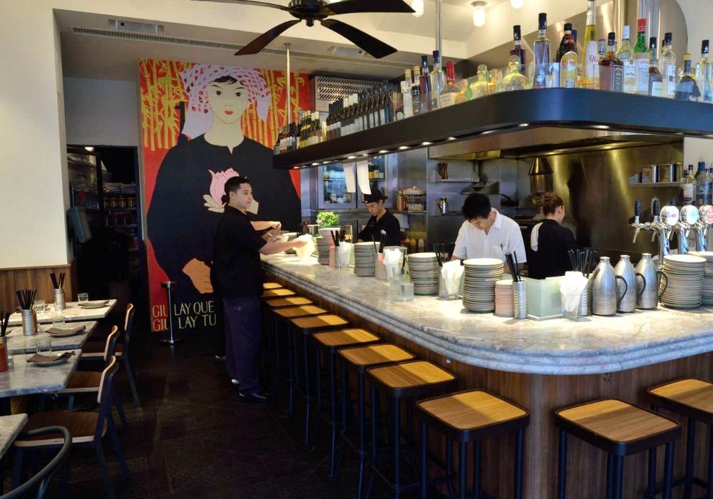 Chomchom hong kong sean dix restaurant interior design