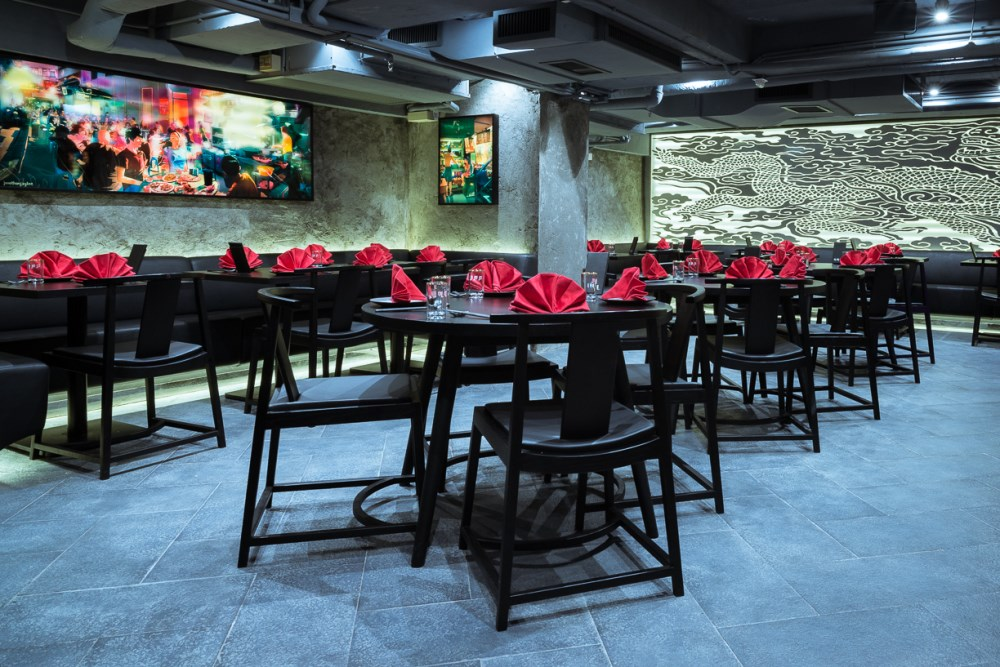 Ho Lee Fook Hong Kong Sean Dix restaurant interior Design
