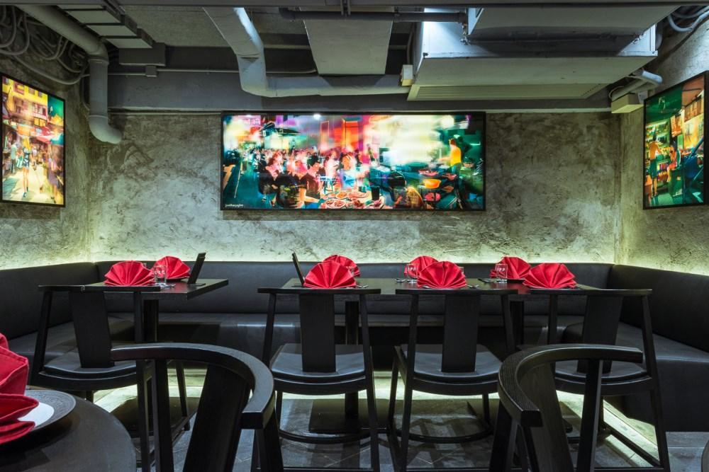ho lee fook hong kong sean dix restaurant interior design
