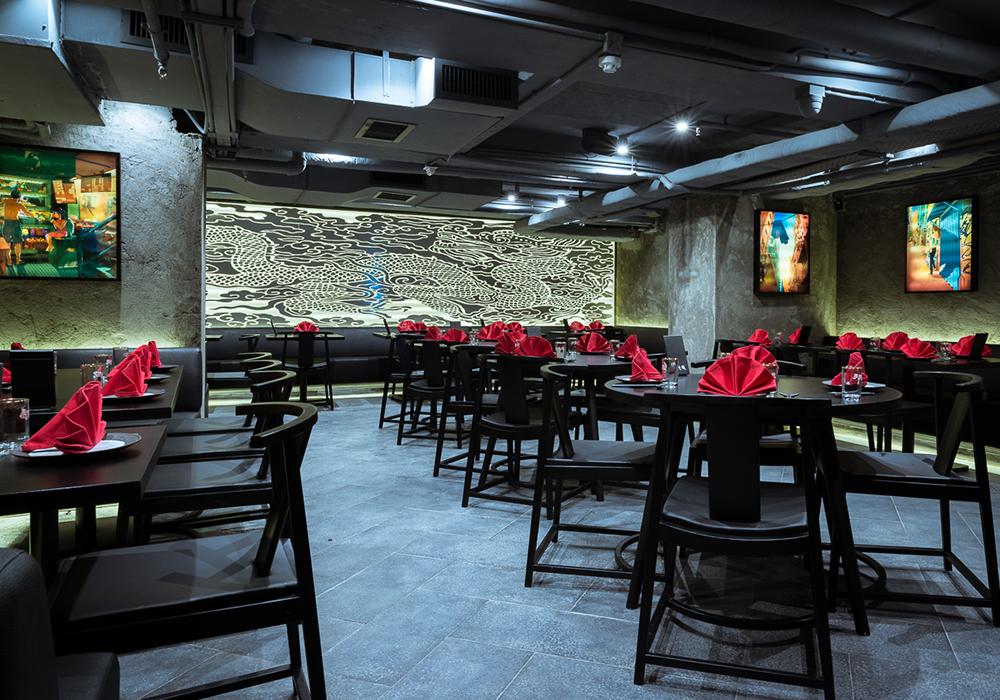 Ho Lee Fook Sean Dix restuarant interior design