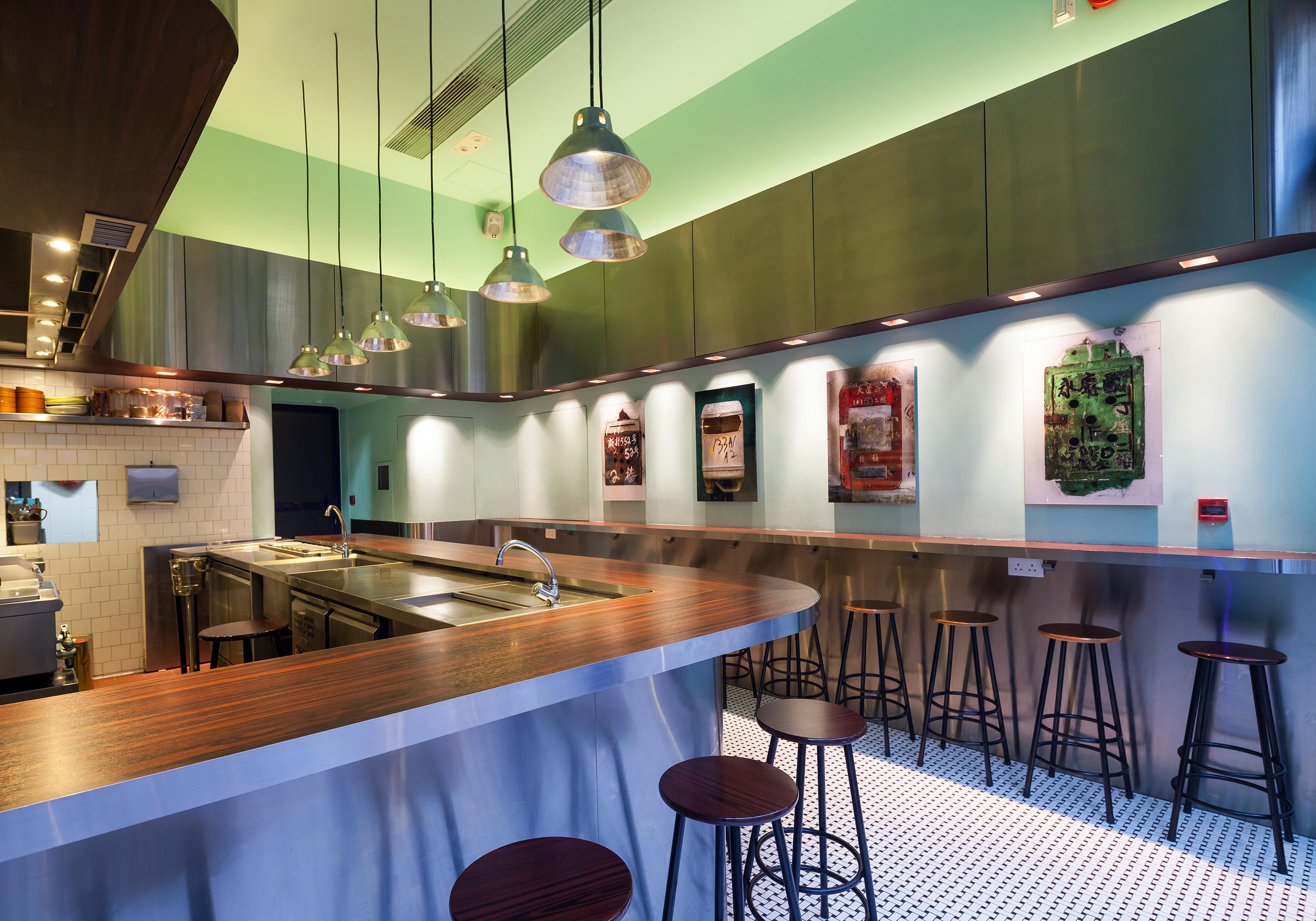 Little Bao Hong Kong Sean Dix restaurant interior design