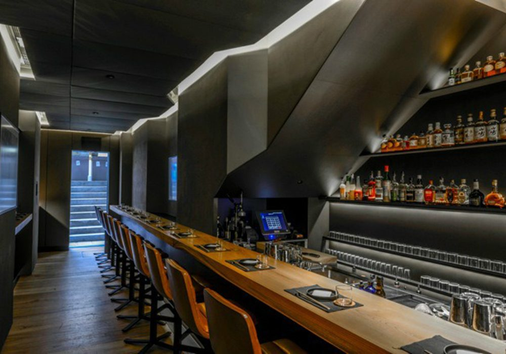 RONIN HONG KONG SEAN DIX restaurant interior design