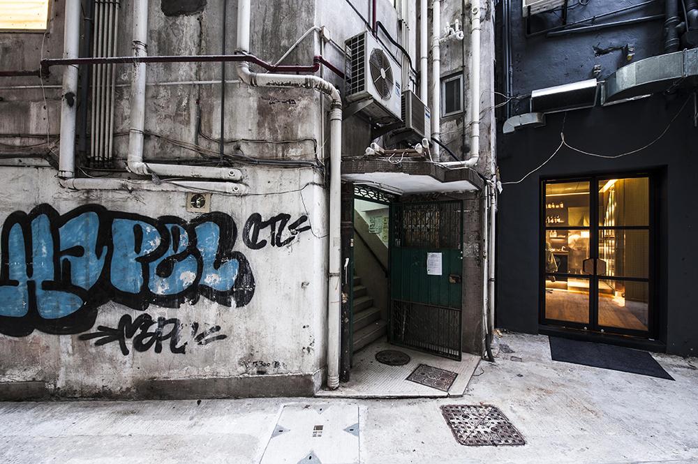 Ronin Hong Kong Sean Dix restaurant interior design