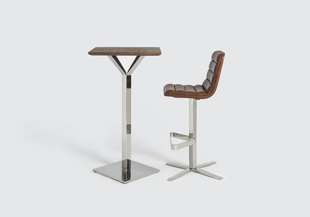 ronin barstool and chair sean dix furniture design