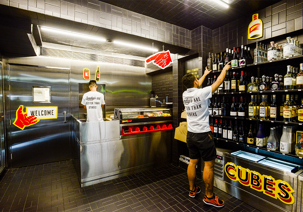 Sunday 39 s grocery interior architecture design by sean dix for Cheap designer furniture hong kong