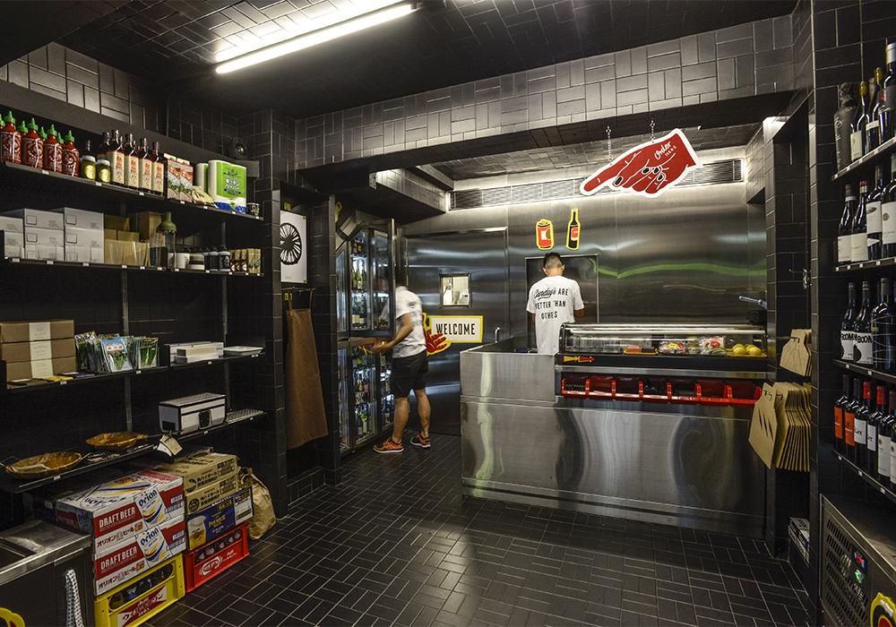 sundays grocery Sean Dix retail interior design