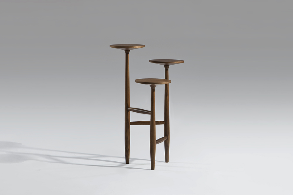 tripod table sean dix furniture design