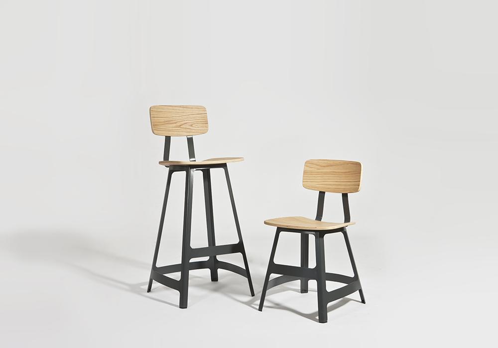 yardbird chair and stool sean dix furniture design