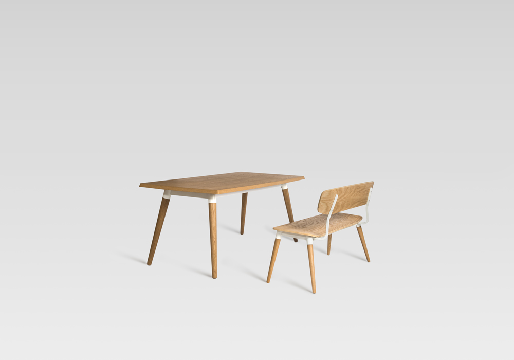 copine table copine bench sean dix furniture design