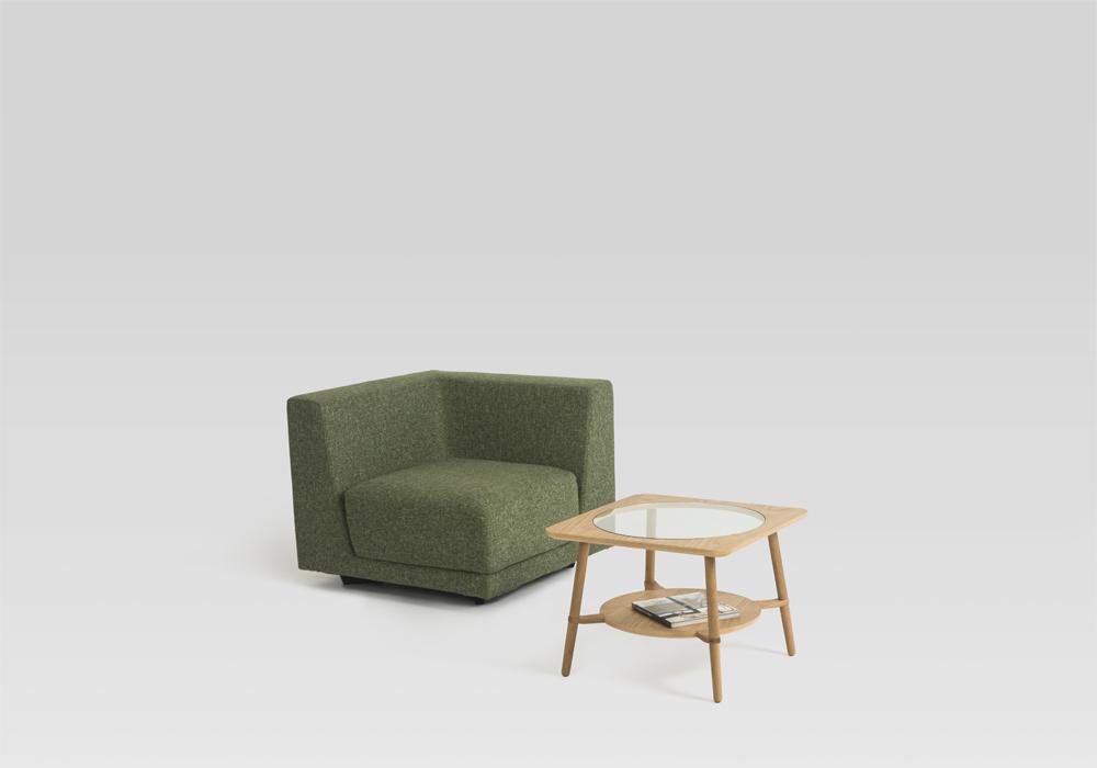 cutout low table sean dix furniture design