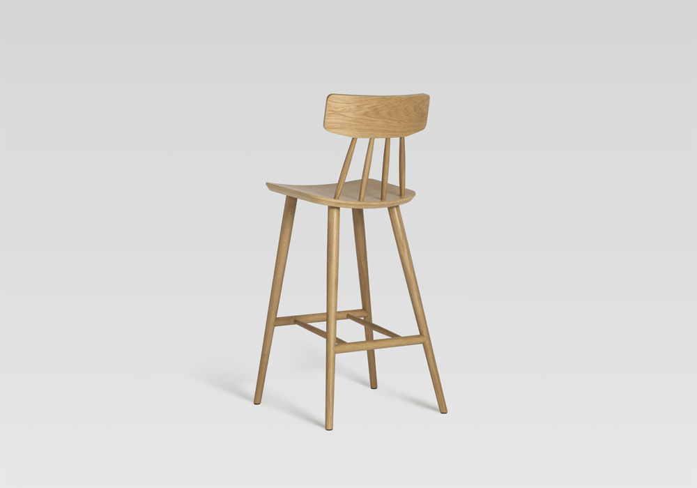 spindle stool sean dix furniture design