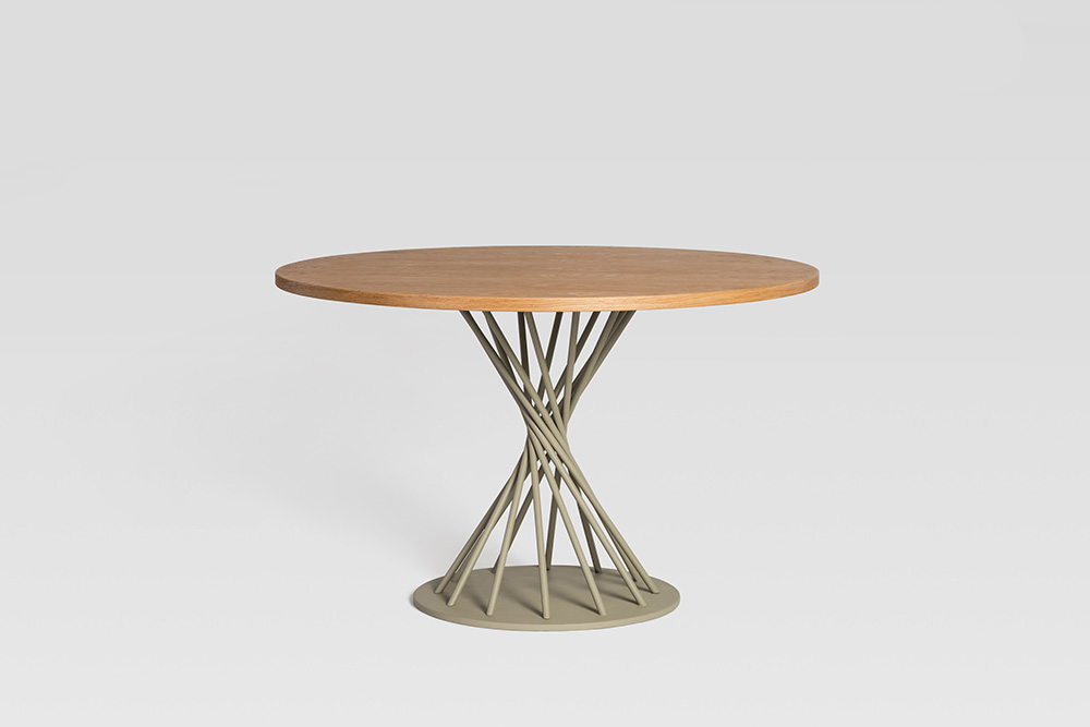 twist dowel table sean dix design