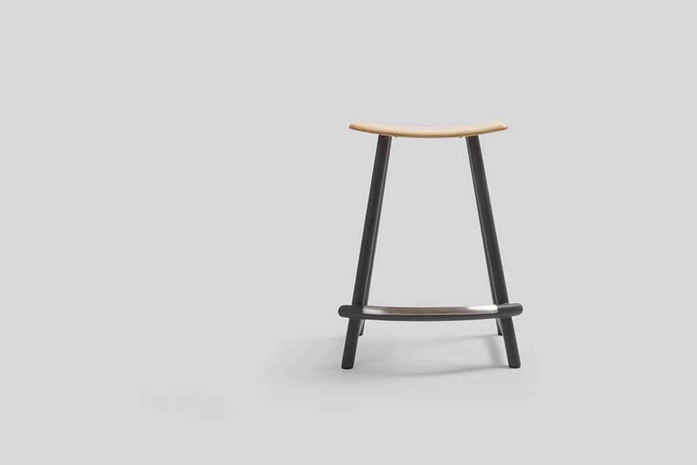 Sean Dix Design Panda Counter Height Backless Stool