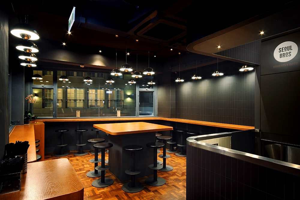 Seoul bros hong kong restaurant bar designer sean dix for Interior design agency hong kong