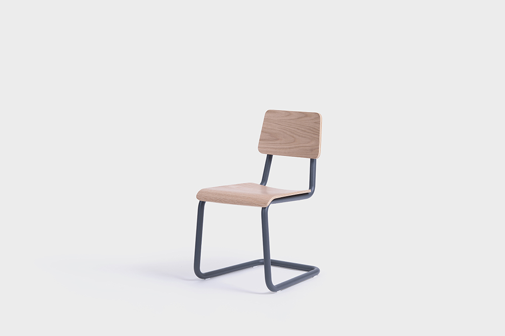 sean dix design cantilever chair
