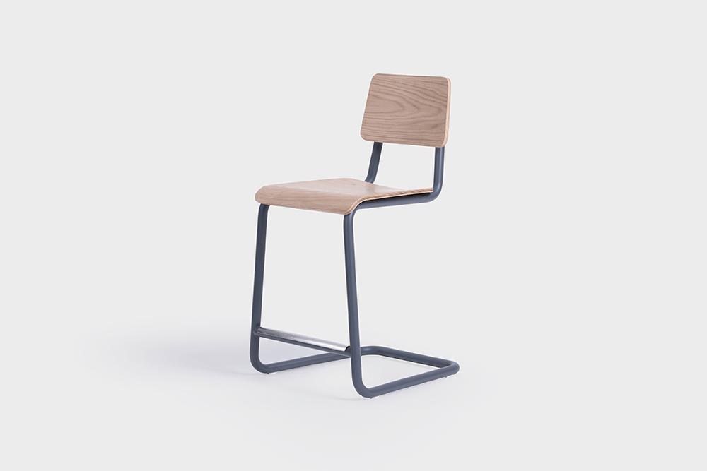 sean dix design cantilever counter stool_1