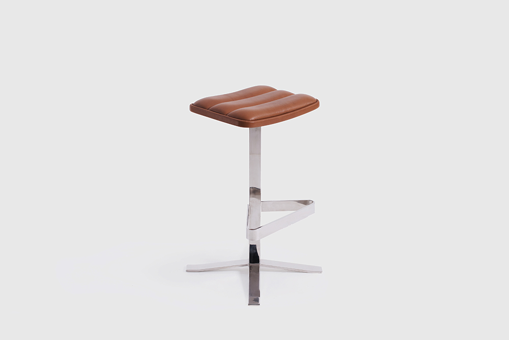 Ronin Backless Stool by Sean Dix