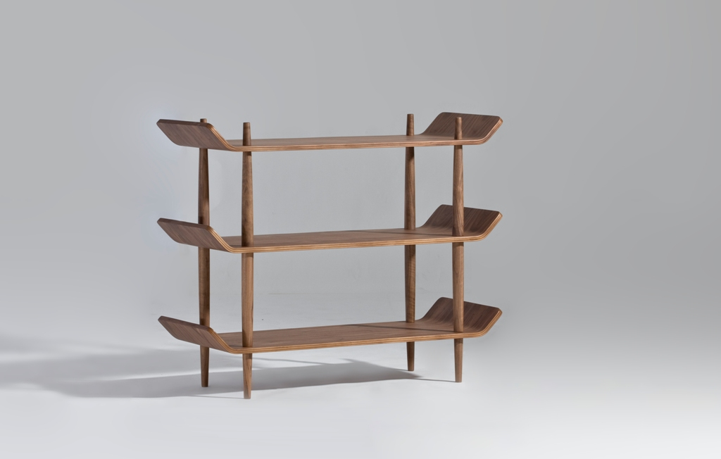 bentwood shelves designed by sean dix