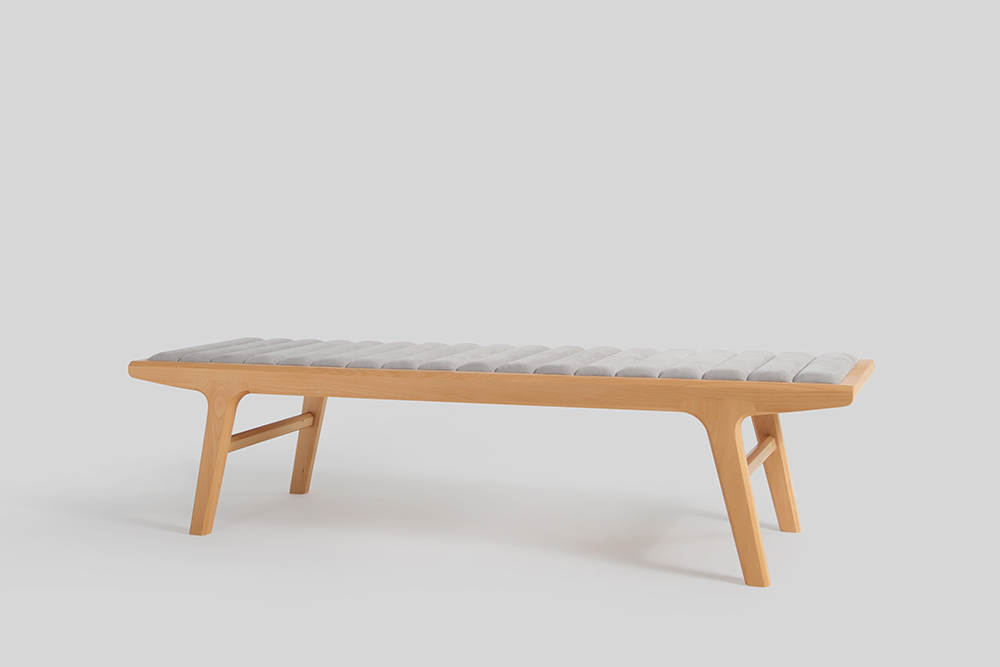 Reverso Bench Side With Top Pad Dix Design Architecture