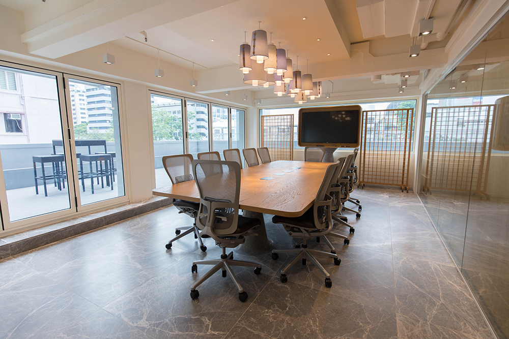 TAL Apparel Corporate Showroom_Conference Room_Designed by Sean Dix