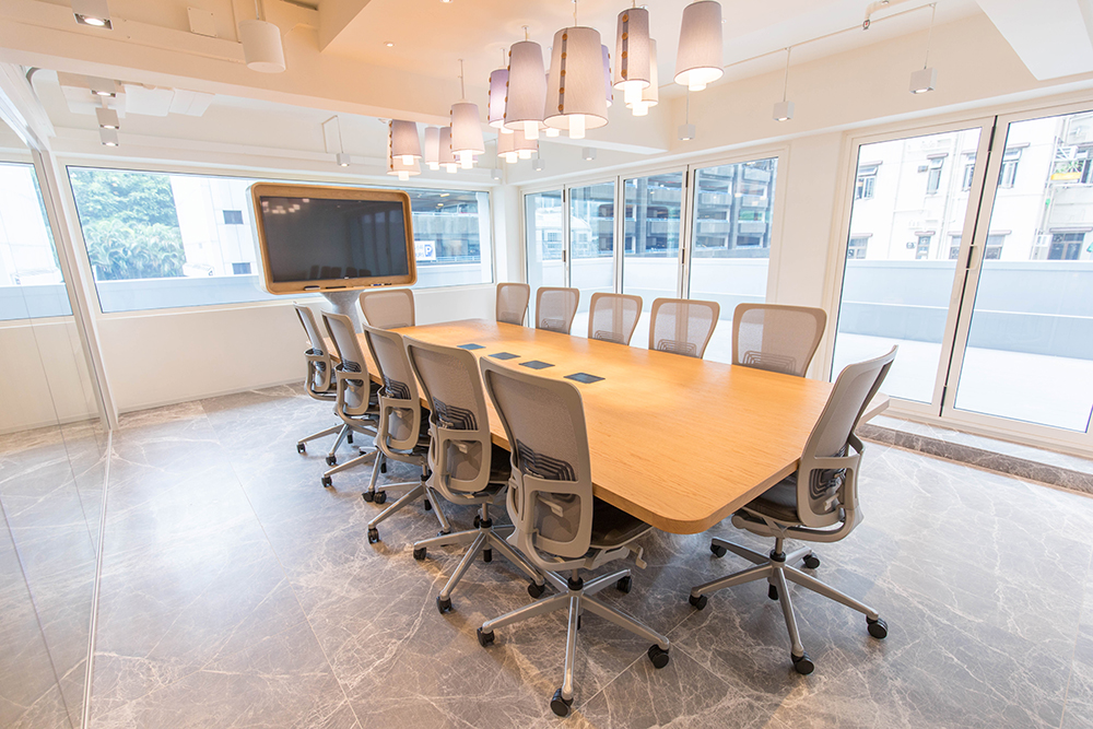 TAL Apparel Corporate Showroom_Conference Room_Designed by Sean Dix_2