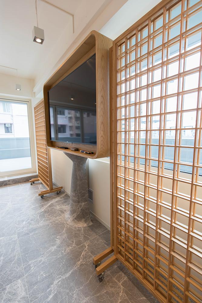 TAL Apparel Corporate Showroom_Custom Display Screens_Designed by Sean Dix_15