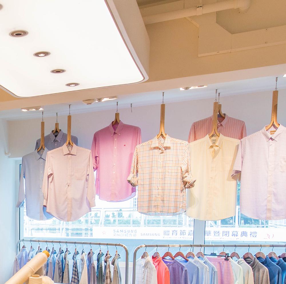 TAL Apparel Custom Hangers_Designed by Sean Dix