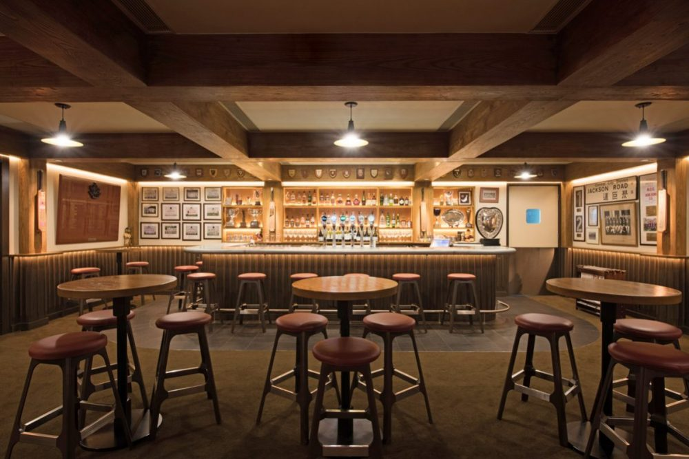 Charter Tavern at the Hong Kong Cricket Club, Interior Design by Sean Dix