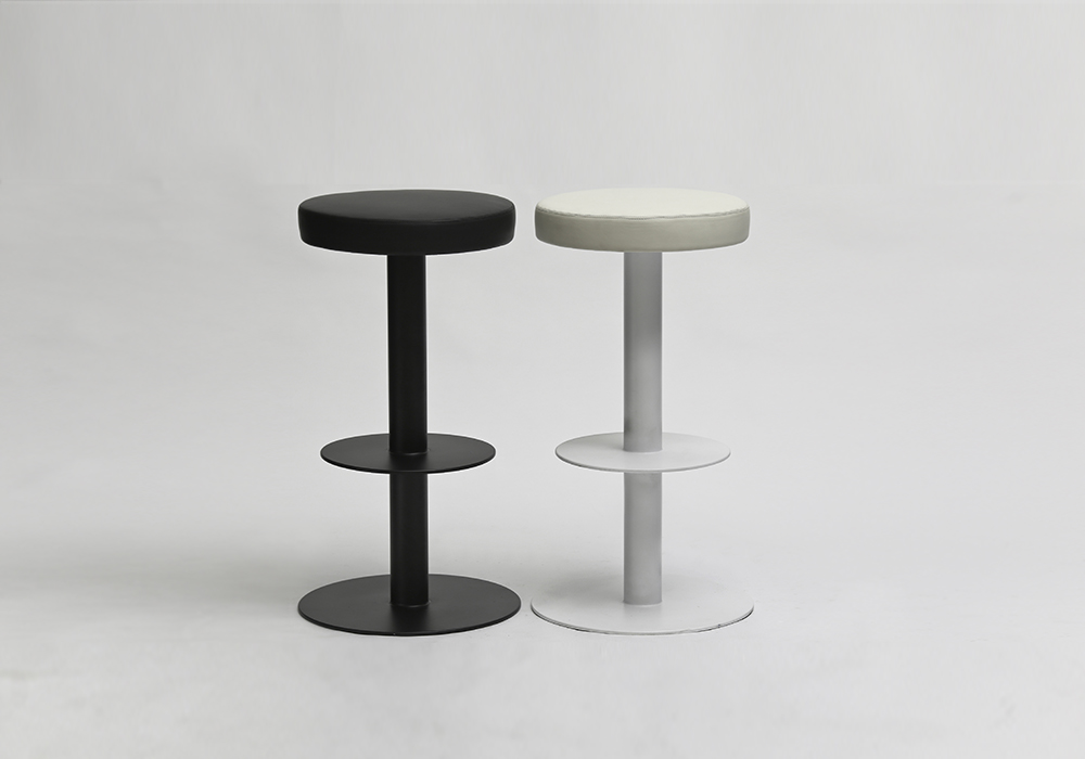Saturn Stools_Black and White_Designed by Sean Dix
