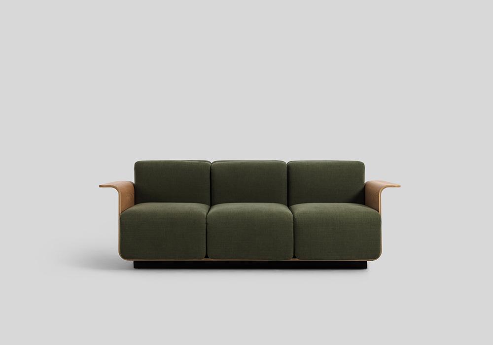 Sean Dix Ply Sofa Small 3 Seater