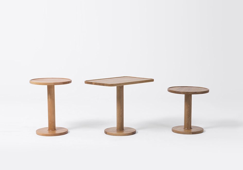 bobbin side tables designed by sean dix