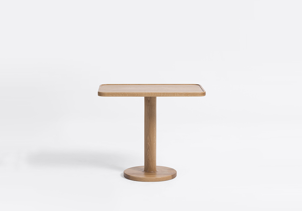 bobbin square side table designed by sean dix