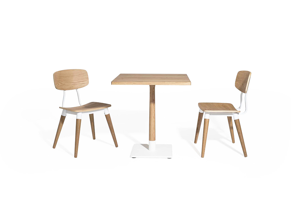 copine bistro table and chairs designed by sean dix