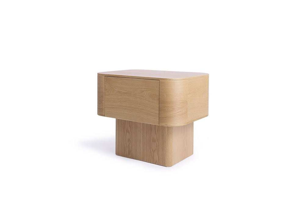 streamline night stand ash_designed by Sean Dix