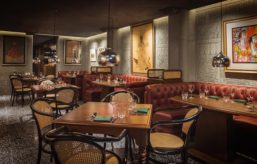 new punjab club_restaraunt interior design by sean dix