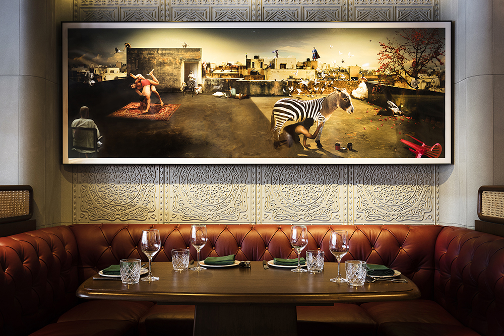 new punjab club_restaraunt interior design by sean dix